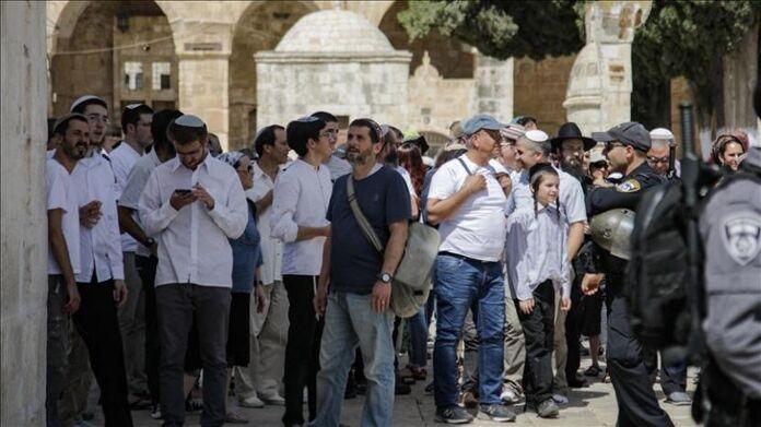 Yahudi Paksa Masuk Masjid Al-Aqsa