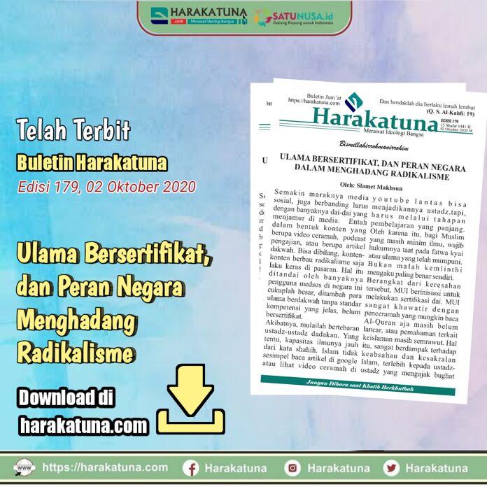Buletin Jumat Harakatuna edisi 179/02 Oktober 2020