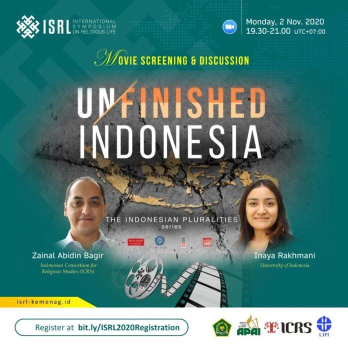 Launching Film Unfinished Indonesia: Merajut Kesatuan dalam Kebhinnekaan