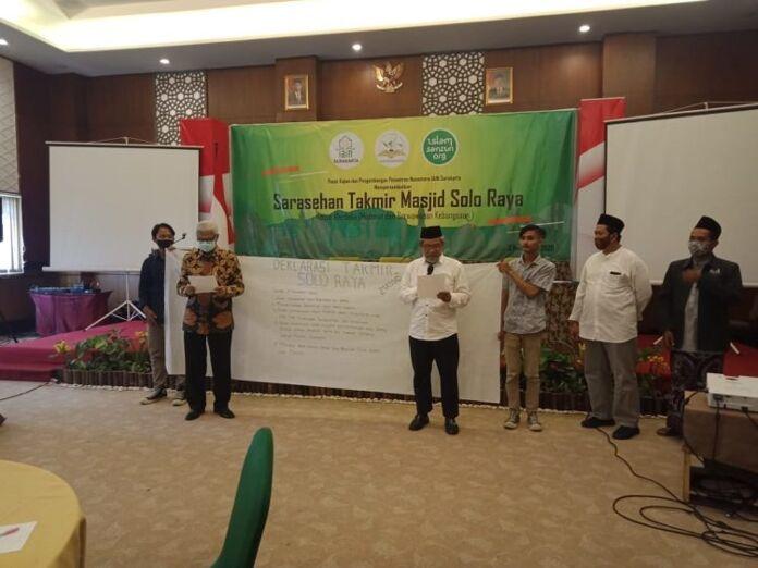 PKPPN IAIN Surakarta dan Takmir Masjid Solo Raya Deklarasikan Komitmen Kebangsaan dan Islam Ramah
