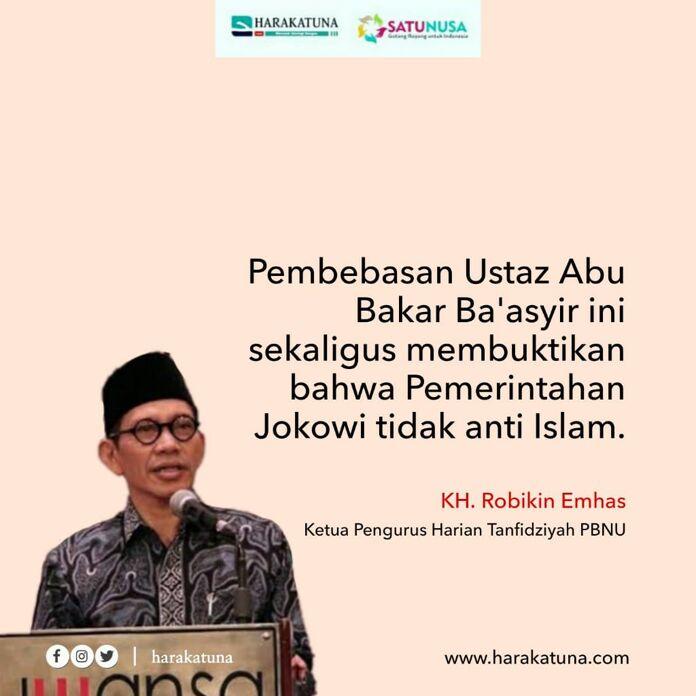 Pemerintah Tidak Anti Islam